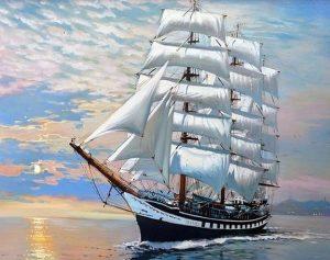 Диктант (+аудіо) ''Корабель прибуває'' (Олесь Гончар) 233 слова